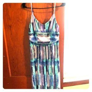 Ann Taylor amazing summer maxi dress